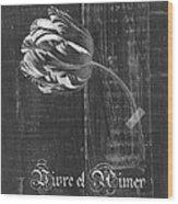 Tulip - Vivre Et Aimer S10t04t Wood Print