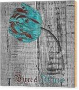 Tulip - Vivre Et Aimer S12ab4t Wood Print