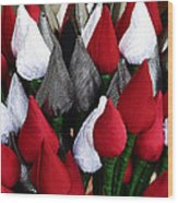 Tulips For Sale Wood Print