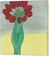 Tulips Of Love Wood Print