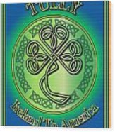 Tully Ireland To America Wood Print