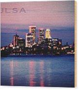 Tulsa Colors Wood Print
