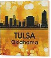 Tulsa Ok 3 Wood Print
