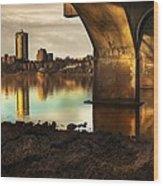 Tulsa Under Bridge 5 Wood Print