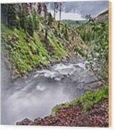 Tumalo Creek Wood Print