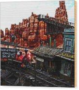 Tumbleweed Town Magic Kingdom Wood Print