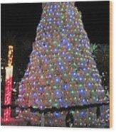 Tumbleweed Christmas Tree Wood Print