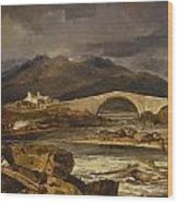 Tummel Bridge Wood Print