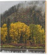 Tumwater Canyon Wood Print