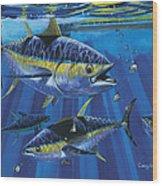 Tuna Blitz Off0039 Wood Print