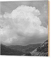 Tunbridge Vermont Storm Cloud Open Edition Wood Print
