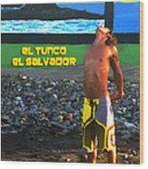 Tunco Card Stretch Ylwm Pl Wood Print