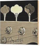 Fender Precision Bass Wood Print