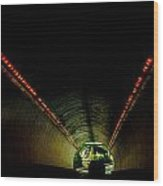 Tunnel In Colorado  Wood Print