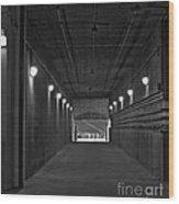 Tunnel Of Heroes 2 Wood Print