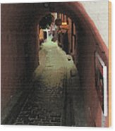 Tunnel Of Love Wood Print