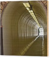 Tunnel To The Berkeley Pit Wood Print