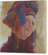 Turban 2 Wood Print