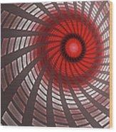 Turbine 2 Wood Print