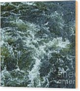 Turbulance At Loch Ness Wood Print