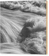 Turbulence 2 Wood Print
