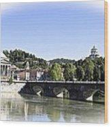Turin - Italy Wood Print by Roberto Galli della Loggia