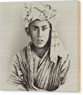 Turkestan Mazang, C1865 Wood Print