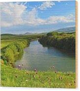 Turkey Countryside Wood Print