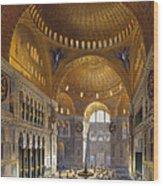 Turkey: Hagia Sopia, 1852 Wood Print by Granger