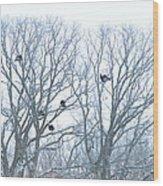 Turkey Tree Wood Print
