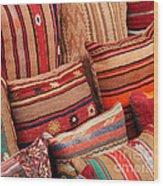 Turkish Cushions 02 Wood Print