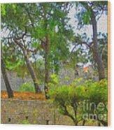 Turkish Flora Wood Print