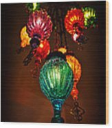 Turkish Lights Wood Print