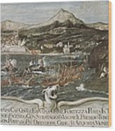 Turkish-venetian Wars. War Of Candia Or Wood Print