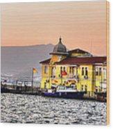 Turkish Water Police Station Wood Print