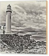 Turnberry Lighthouse Wood Print