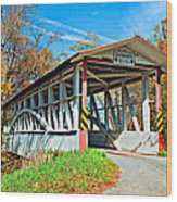 Turner's Covered Bridge Wood Print