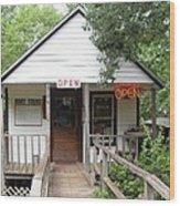 Turning Basin Bayou Tours Jefferson Texas Wood Print