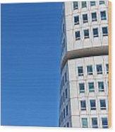 Turning Torso Skyscraper Wood Print by Antony McAulay