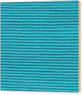 Turquoise Cloth Wood Print