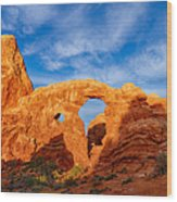 Turret Arch Wood Print