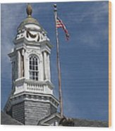 Turret Main Post Office Annapolis Wood Print
