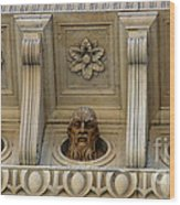 Tuscan Architectural Details Wood Print