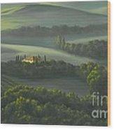 Tuscan Daybreak Wood Print