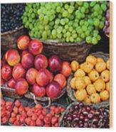 Tuscan Fruit Wood Print