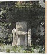 Tuscan Seat Wood Print