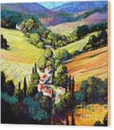 Tuscany Wood Print by Michael Swanson
