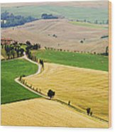Tuscany Summer Wood Print