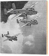 Tuskegee Airman...616th Bombardment Group Wood Print