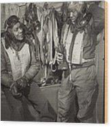 Tuskegee Airmen, 1945 Wood Print